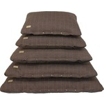 Earthbound Tweed Flat Pet Cushion, Brown