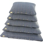 Earthbound Tweed Flat Pet Cushion, Navy