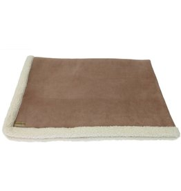 Earthbound Sherpa Pet Blanket, Camel