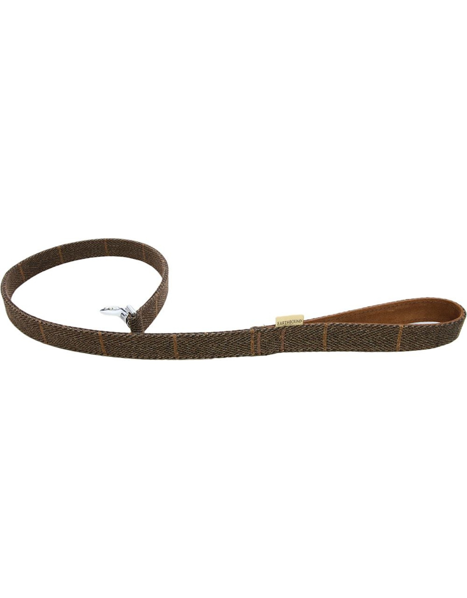 Earthbound Tweed Dog Lead in Brown *CLEARANCE