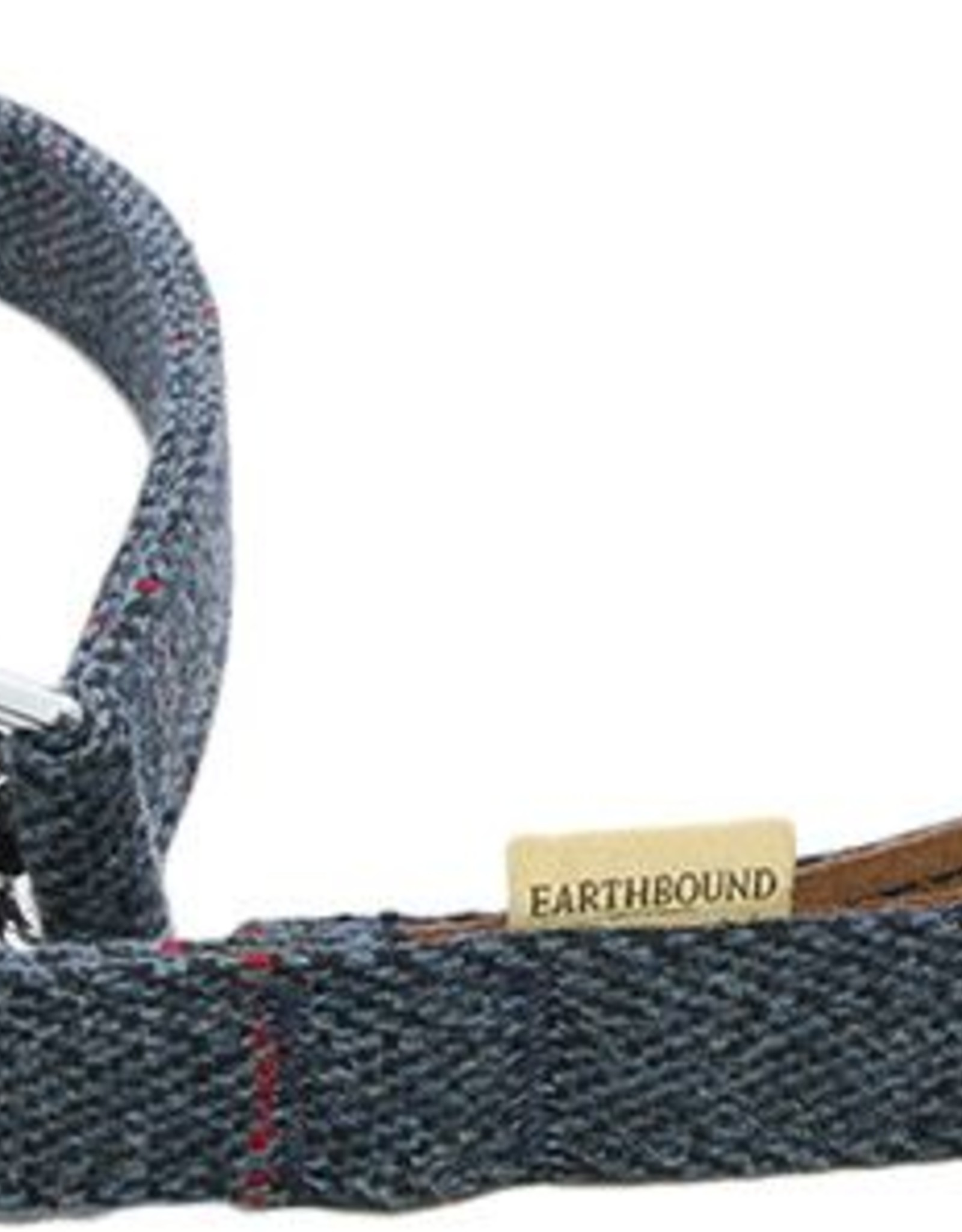 Earthbound Tweed Dog Lead in Navy