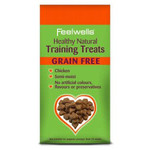 Feelwells Healthy Natural Training Dog Treats, Grain Free with Chicken 115g