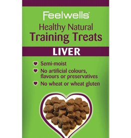Feelwells Healthy Natural Training Dog Treats, Liver 115g