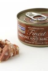 Fish4Cats Finest Sardine & Mackerel Wet Cat Food, 70g