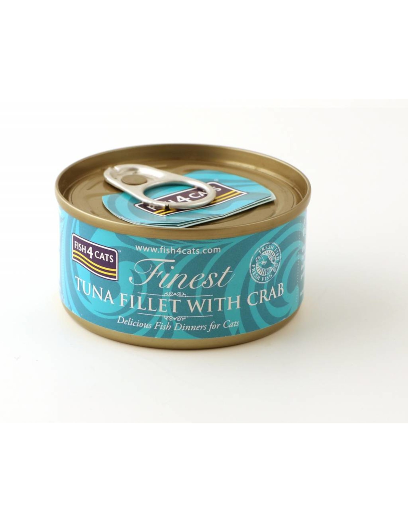 Fish4Cats Finest Tuna Fillet with Crab Wet Cat Food, 70g