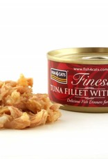 Fish4Cats Finest Tuna Fillet with Prawn Wet Cat Food, 70g