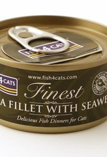 Fish4Cats Finest Wet Tuna Fillet with Seaweed Cat Food, 70g