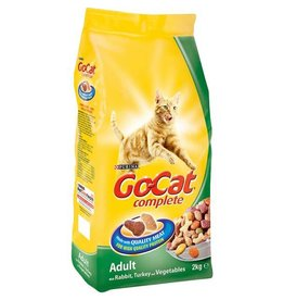 Go-Cat Complete Adult Cat Food Chicken, Turkey & Veg 2kg