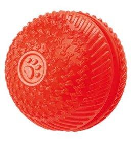 Gor Pets Flex Squeak & Treat Dog Ball Toy, 8cm