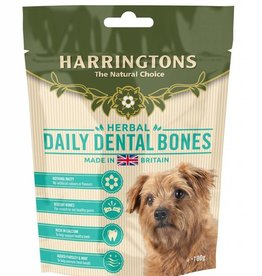 Harringtons Daily Dental Bones Dog Treats 100g