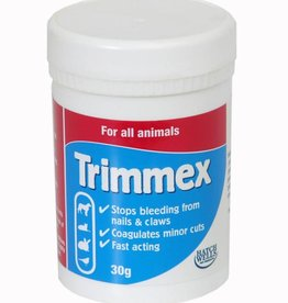 Hatchwells Trimmex,  Coagulates Minor Cuts, for all Animals, 30g