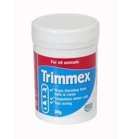 Hatchwells Trimmex,  Coagulates Minor Cuts, for all Animals, 30g