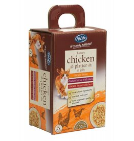 HiLife It's Only Natural Luxury Chicken in Jelly Wet Cat Food Pouch, 50g, 5 pack