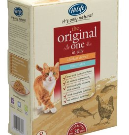 HiLife Its Only Natural Cat Food Pouch The Original One In Jelly 70g, 8 pack