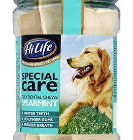 HiLife Special Care Daily Dog Dental Chews Spearmint, 12 Chews