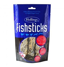 Hollings Fish Sticks Dog Treat, 3 sticks