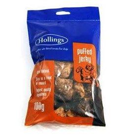 Hollings Puffed Jerky Natural Dog Treats, 100g
