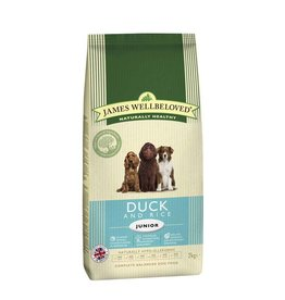 James Wellbeloved Junior Dog Dry Food, Duck & Rice