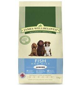 James Wellbeloved Junior Dog Dry Food, Fish & Rice