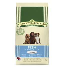 James Wellbeloved Junior Dog Dry Food, Fish & Rice