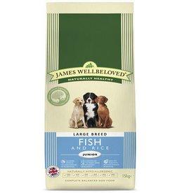 James Wellbeloved Junior Large Breed Dog Dry Food, Fish & Rice