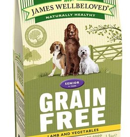 James Wellbeloved Grain Free Senior Dog Food, Lamb & Vegetable