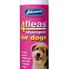 Johnsons 4Fleas Dog Shampoo with Permethrin 240ml