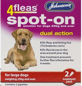 Johnsons 4fleas Dual Action Flea & Tick Spot-on Dog