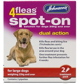 Johnsons Veterinary 4fleas Dual Action Flea & Tick Spot-on Dog