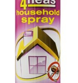 Johnsons Veterinary 4Fleas Household Spray 'Extra Guard' with I.G.R, 600ml