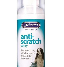 Johnsons Veterinary Anti-Scratch Soothing Spray for Cats & Dogs, 100ml