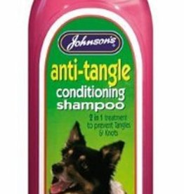 Johnsons Veterinary Anti-Tangle Dog Conditioning Shampoo 200ml