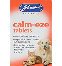 Johnsons Veterinary Calm-Eze Cat & Dog Calming Tablets, 36 pack