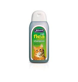 Johnsons Veterinary Cat Flea Cleansing Shampoo, 200ml