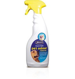 Johnsons Clean n Safe Pet Odour Remover Trigger Spray 500ml