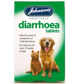 Johnsons Diarrhoea Tablets 12 Tablets