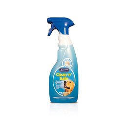 Johnsons Veterinary Clean 'n' Safe Disinfectant, Cleaner, Deodorant Spray for Cats & Dogs, 500ml