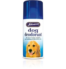 Johnsons Dog Deodorant Aerosol Spray 150ml