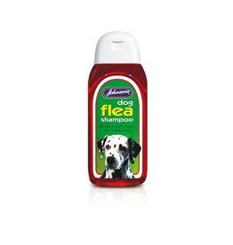 Johnsons Veterinary Dog Flea Shampoo, 200ml