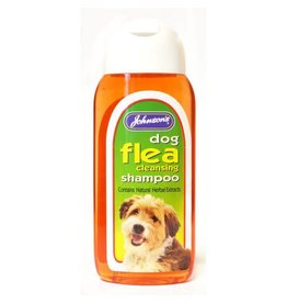 Johnsons Veterinary Dog Flea Cleansing Shampoo, 200ml