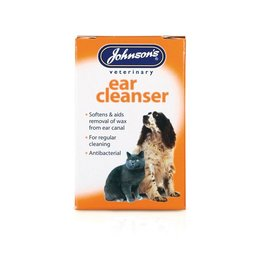 Johnsons Veterinary Ear Cleanser for cats & dogs