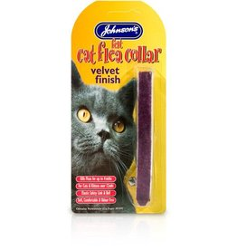 Johnsons Felt Cat Flea Collars (Mixed Colours)
