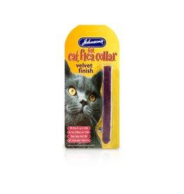 Johnsons Veterinary Felt Cat Flea Collars (Mixed Colours)