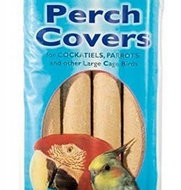 Johnsons Veterinary Large Sanded Perch Covers for cockatiels, parrots etc, 4 pack