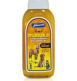 Johnsons Veterinary Manuka Honey Pet Shampoo & Conditioner, 200ml