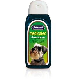 Johnsons Veterinary Medicated Dog Shampoo for healthy coat and skin, 200ml