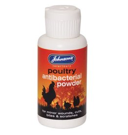 Johnsons Veterinary Poultry Antibacterial Powder for minor wounds, 20g