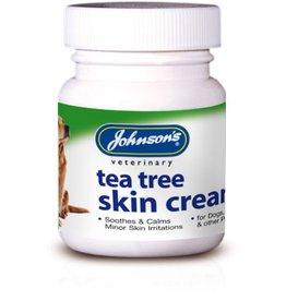 Johnsons Veterinary Tea Tree Antiseptic Pet Skin Cream, 50g