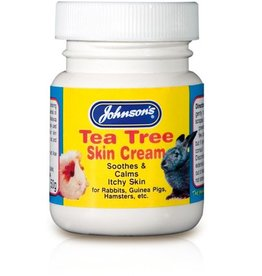 Johnsons Tea Tree Skin Cream for small animals 50g