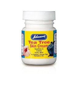 Johnsons Veterinary Tea Tree Skin Cream for small animals 50g